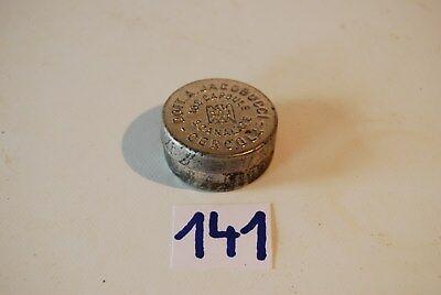 C141 Ancienne boite à médicaments - 100 capsules SCANALATE - métal