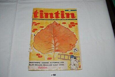 C188 Revue - Tintin - N°38 - L'hebdomadaire des jeunes