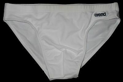ARENA Herren Badehose Schwimm Hose swim trunk Swimwear Gr.6 L weiß