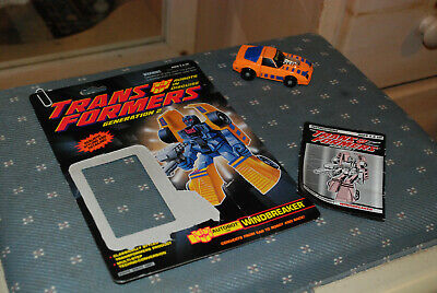 Transformers G2  Windbreaker w/Card & Instructions