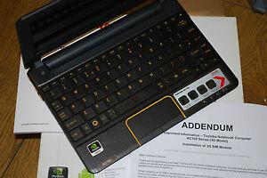 Toshiba AC100-10U Netbook, nVidia Tegra 250, 512MB, 8GB, 10.1