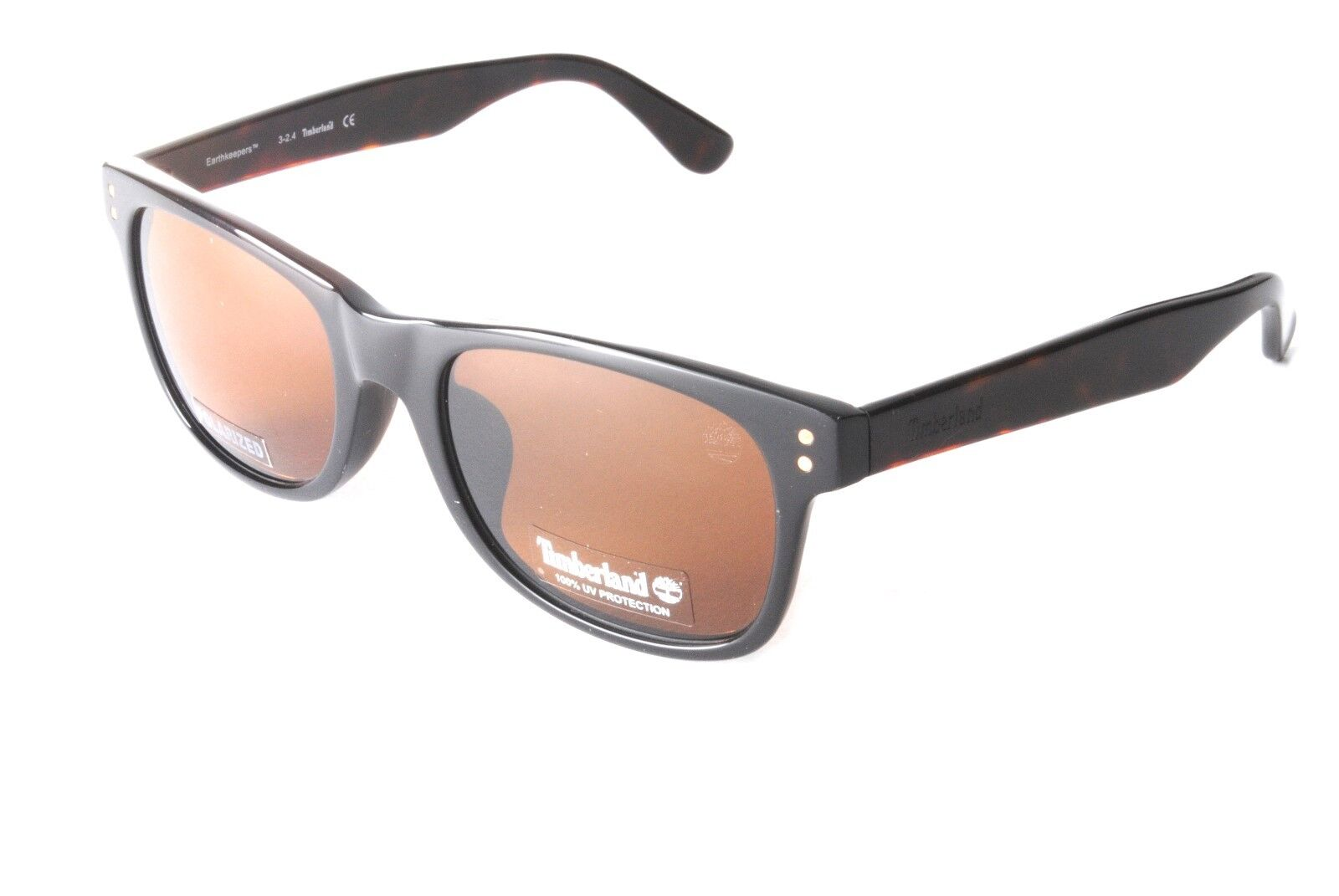 053ac288e1dfa Timberland Earthkeepers TB9063-F S 01H Black Brown Polarised Sunglasses
