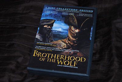 Edith Scob Signed - Rare - Brotherhood of the Wolf TV Films DVD Monica Bellucci