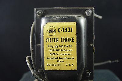 One NOS Stancor Model C1412,  7 Henry, Audio Filter Choke