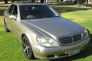 2002 Mercedes-Benz S320 Sedan Urgent sale BARGAIN PRICE East Fremantle Fremantle Area Preview
