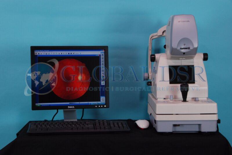 Topcon TRC NW200 Non Mydriatic Retinal Fundus Camera w/ Imagenet