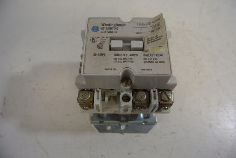 Westinghouse AC Lighting Contactor Cat: A202K1CA