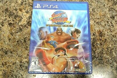 PS4 Street Fighter: 30th Anniversary Collection - NEW SEALED