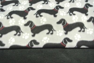 """Dachshund Doxie Dog Blanket Can Be Personalized 28x44"""""""