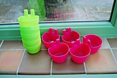 25 x PIGEON DOVE  CAGE CUP GALLERY POT D CUP for food or water ,,