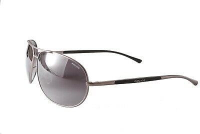 Police Sunglasses S8691G 0627P Matt Gunmetal Grey Polarised