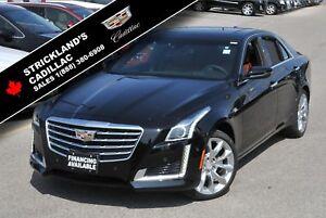 2018 Cadillac CTS Sedan Premium Luxury AWD