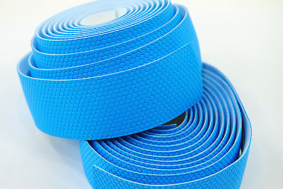 Profile Design DriVe Road Bike Bar Tape/Wrap, Electric Blue