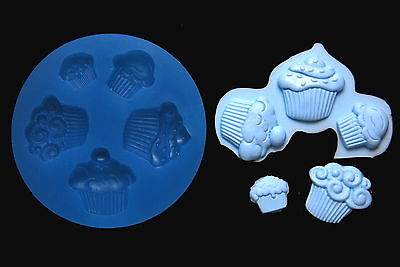 Sugarcraft Silicone Mold Sugarpaste Fondant Mould Chocolate Regin Clay Cupcake