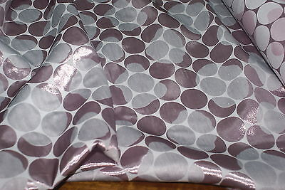Used, 2M 'SPOT SHIMMER COTTON JACQUARD' PINK, SILVER WHITE Medium Weight Fabric for sale  Shipping to Canada