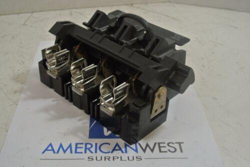 1494F Allen Bradley 30 amp 600 volt lever mech fuse block