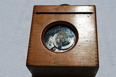 Vintage Imperator Henry Martens Pigeon Racing Clock fantastic wooden case