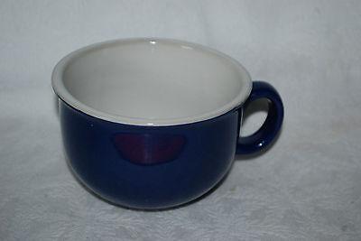 Cobalt Ceramic Mug - Royal Norfolk Navy Dark Blue Cobalt Ceramic Coffee/soup  Mug