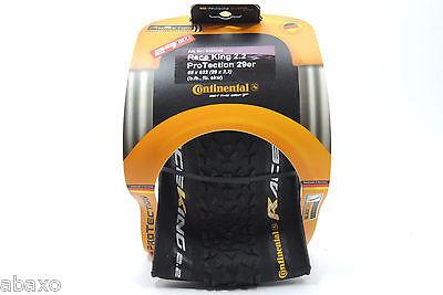 "Continental Race King 29"" x 2.2 ProTection UST Folding Black Bike Tire"