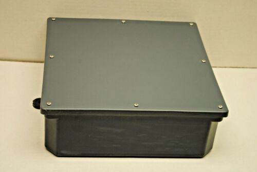 "12"" X 12"" X 4"" Deep  PVC Junction Box, Weatherproof"