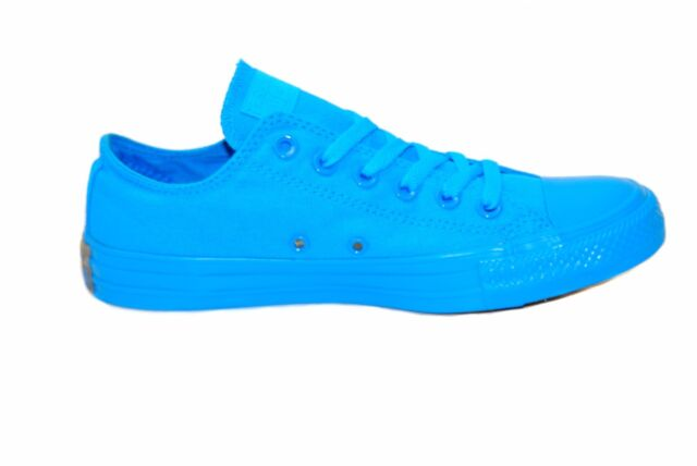Converse Unisex CTAS OX 152783C Sneakers Blue/Thunder Size UK 5 RRP £46  BCF84