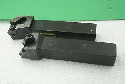 Lot Of 2 Iscar Indexable Turning Tool Holders Mdjnr 12-3 Mcfnr-124b