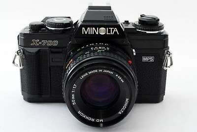 Minolta X-700 Classic 35mm Camera with 50mm F/1.7 Lens - Good Conditions