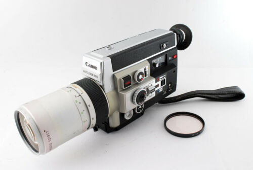 = Opt Nr Mint = All Works = Canon Auto Zoom 1014 Electronic Super 8 Movie Camera