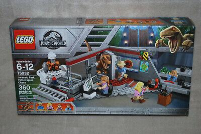 LEGO New 75932 Jurassic Park Velociraptor Chase New in Factory Sealed Box NISB