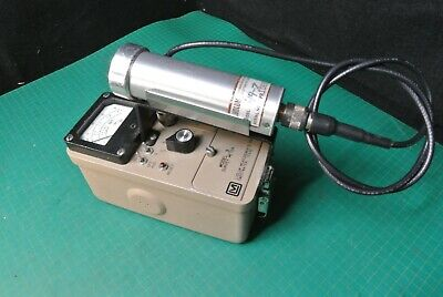 Ludlum 3 Geiger Counter With 44-7 Probe Tube Geiger Radiation Survey Meter