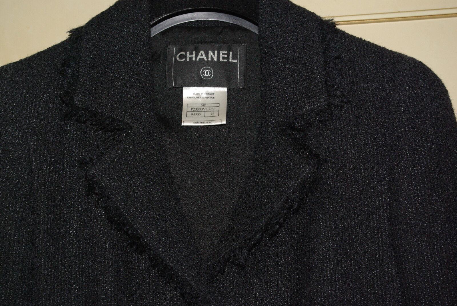 Chanel sublime iconique veste noir portee par vanessa paradis / campagne cambon