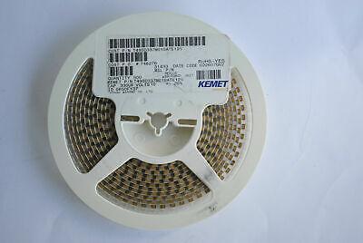 Kemet Tantalum Capacitor T495d337m010ate125 330uf 10v Low Esr 7343 D Rohs 500rl