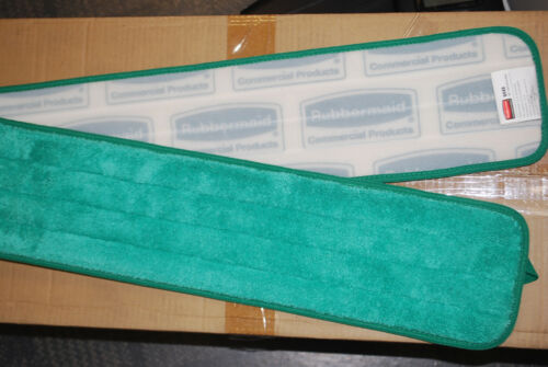 """Rubbermaid Q448 Microfiber Dry Hall Pads 48"""" Long  Case of 12  S5811C"""