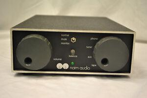 Naim Audio NAC 62 (Chrome bumper) Vintage Pre-Amplifier (With MC Cards)