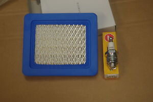 Air Filter & Spark Plug for Hayter Harrier with Briggs & Stratton Quantum Engine