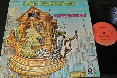 QUICKSILVER MESSENGER SERVICE What About Me / German LP 1970 CAPITOL 1C062-80722