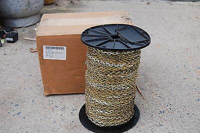 Brass Weldless Sash Chain Plumbers Chain 100 Feet Rr C 271D Tyii Class 6 New