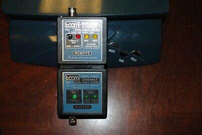 L-com Model Dxb65 Coax Bnc Rj45 10base Ethernet Dual Cable Tester - Euc