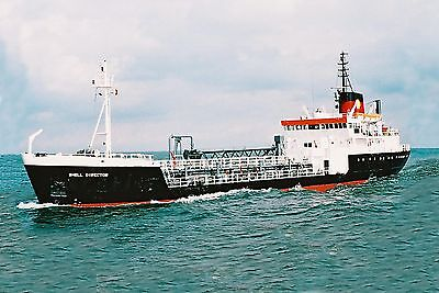 Shell Oil Tankers ship Set A 10 6x4 Colour Print Photos