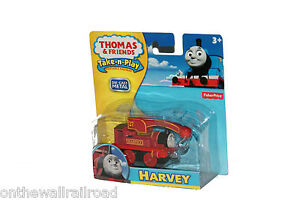 TAKE n PLAY Die-Cast HARVEY Metal Thomas Tank Engine Fisher Price Along