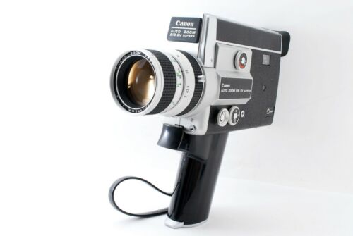 【All Works】 Canon AUTO ZOOM 518 SV SUPER8 8mm Movie Camera N111643 #849220