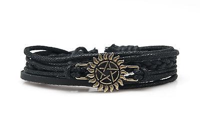 Supernatural Fashion Style Cute Charm Bracelet Jewelry US Seller-DIM143