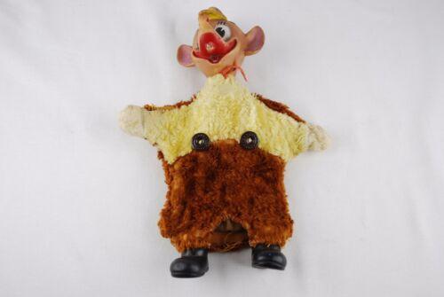 Vintage JAQ Mouse Hand Puppet Disney Cinderella