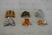 Rhinestone Cocktail Ring Lot