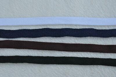 Tsuka Sageo  Meterware - 12 mm Breit -  Blau  Grün Weiß Braun 3€ m
