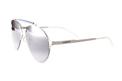 Carrera Sunglasses Carrera 124S 6LBHD Silver Blue Gradient Grey