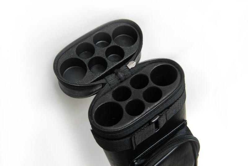 2x4 Hard Tube Square 2Butt 4Shaft Pool Cue Stick Case - Cue Case - Billiard Case