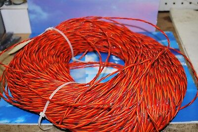 22 Awg Teflon Coated Triple Twisted Wire 25ft
