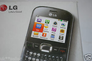 LG C360 Mobile Phone QWERTY Keyboard 2MP Camera UNLOCKED UK STOCK