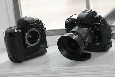 Two (2)  Fuji Fujifilm Finepix S3Pro body +  (1) Sigma 28.80 Zoom Lens